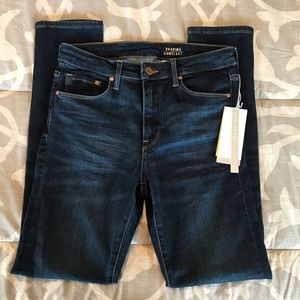 H&M Skinny Jeans Dark Wash Shaping Size 31/30 NWT